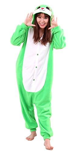 Honeystore Jumpsuit Tier Cartoon Häschen Fasching Halloween Kostüm Sleepsuit Hase Cosplay Pyjama Schlafanzug L (Eine Gruppe Von 3 Halloween Kostüme)