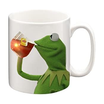 edc2f02795533 Kermit None of My Business Meme Mug, Funny Mugs, Coffee Mug, Tea Mug, Gift  Mugs