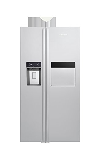 Blomberg KWD 2440 X A++ Side-by-Side / 182.00 cm Höhe / 370 kWh/ 353 l Kühlteil / 176 l Gefrierteil/No-Frost/Festwasseranschluss
