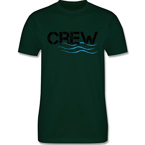 JGA Junggesellenabschied - Crew - Herren Premium T-Shirt Dunkelgrün