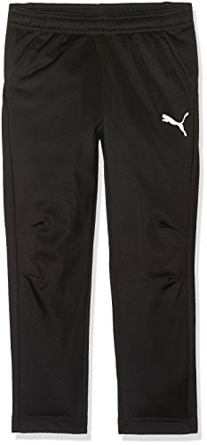 PUMA Kinder Liga Training Pants Core Jr Hose, Black White, 116 -