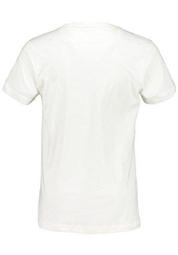 Maloja Herren Zupom. Oberteil Weiß (Vintage White)