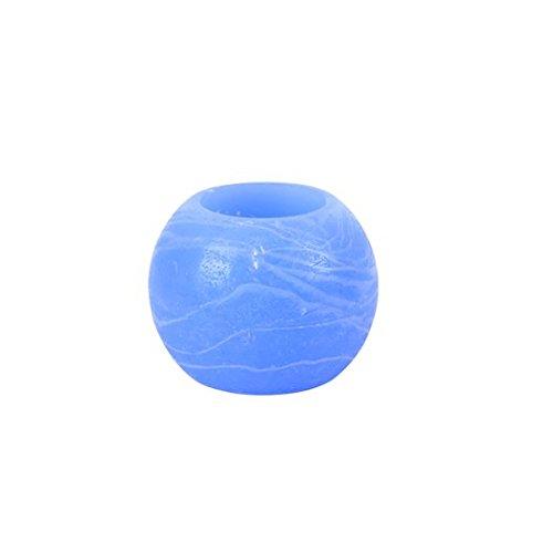 Vela Déco LED boda, fiesta, cumpleaños VELA bola LED azul 5cm (lote de 3piezas)