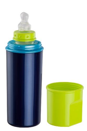 Rotho Babydesign 30026 0020 01 Biberon termico, Blu perlato