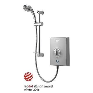 Aqualisa Quartz Chrome Electric Shower - 10.5kW