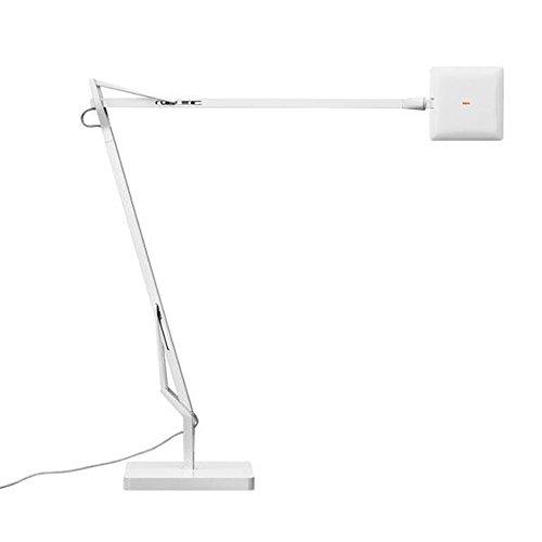 Flos Kelvin Edge lámpara de mesa con base 8W, blanco
