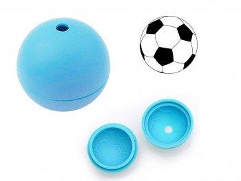DESIGN FREUNDE 5 Eiswürfelformen Fussball 3D Eisformen Förmchen Eisförmchen Eiswürfelform Eiswürfel Eiswürfel Eismaschine Eis Bar