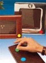 APLI Etiquetas colores Bolsa 5 hojas 175 ud 13 mm Verde 2058