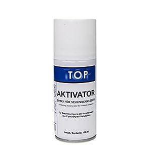 Top Sekundenkleber Aktivator Spray 150ml für schnelles Aushärten von Sekundenklebern