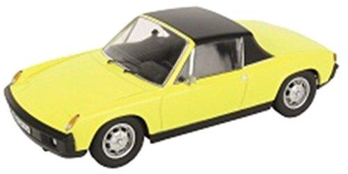 Schuco 450373000 - Porsche 914,  Maߟstab 1:43, gelb (Porsche 914 Modell)
