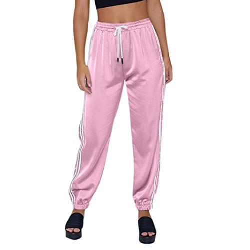 MOIKA Damen Hose Freizeithose 7/8-Hose Sportswear Style,Jogginghose Sporthose Fitnesshose Rangerhose Jägerhose Outdoorhose Freizeithose Tarnhose