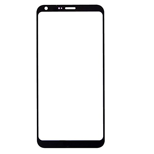 Ownstyle4you LG Q6 Front Screen Outer Glass [Schwarz] Frontglas Glas Display-Glas Screen Ersatzdisplay Displayglass Frontglas -