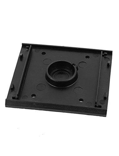 Power Tool Ersatzteil Kunststoff-Bodenplatte schwarz für Makita 4510 Sander