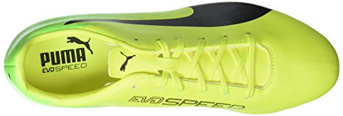 Puma Evospeed 17.5 Ag, Scarpe da Calcio Uomo Giallo (Safety Yellow-puma Black-green Gecko 01)