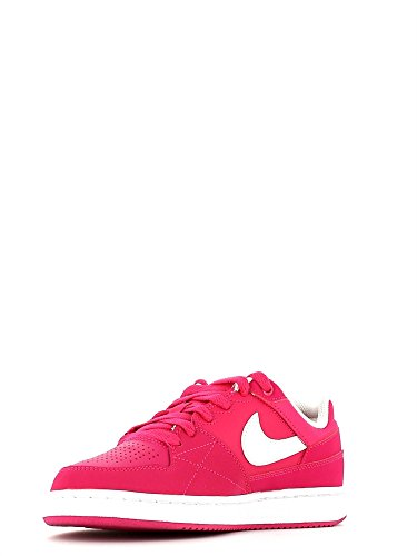 Nike - Nike Priorité Low Gs Chaussures Sport Femme Cuir Fuxia 653688 Fuxia