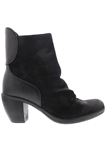 FLY London Damen Hota125fly Stiefel Schwarz (Black)