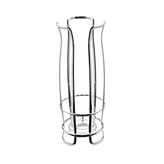 interdesign axis toilettenpapierhalter freistehender wc rollenhalter fr reserverollen rostfreier klorollenhalter fr 3 ersatzrollen - Freistehender Toilettenpapierhalter Mit Lagerung