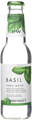 Lamb & Watt Basil Tonic Water Bottle, 200 ml, Pack of 12