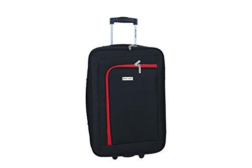 Maleta semirrígida PIERRE CARDIN negro mini equipaje de mano ryanair VS98