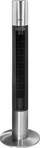 AEG T-VL 5537 Tower Ventilator mit FB, edelstahl