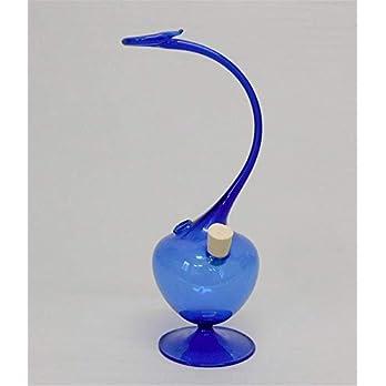 Tintenfaß Glasschreiber Faß und Halter Kobaltblau Glasfeder Tintenfaß Qualität Handmade