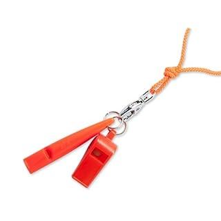 ACME Pfeifenset Whistle-Set Pfeife und Triller Hundepfeife + Pfeifenband 211,5 orange