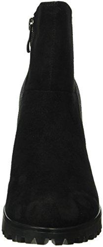 Caprice 25408, Bottes Classiques Femme Noir (Blk Suede Comb 39)