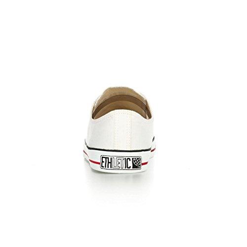 Ethletic low Sneaker / LoCut – vegan, weiß, aus Bio-Baumwolle - 4