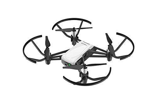 RyzeTello Combo - Mikro Drohne ideal für kurze Videos mit Ez-Shots, VR-Brillen und Gamecontrollern Kompatibilität, 720p HD-Übertragung und 100 Meter Reichweite -