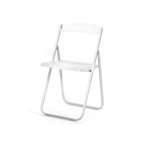 Kartell 4818B4 Chaise Pliante Honeycomb Transparent