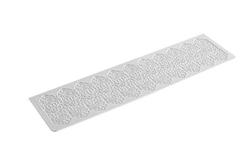 TRD06 Tapete de Silicona para Encajes de azúcar, Dentelle, Color Blanco