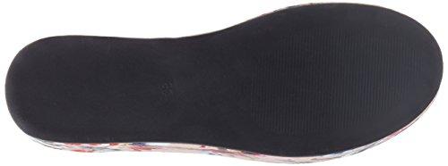 Buffalo Damen 516-3903-2 Fabric Flower Print Sneaker Mehrfarbig (Multi 01)