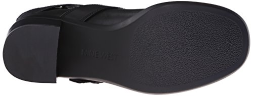 Nine West Lorena Leather Boot Black
