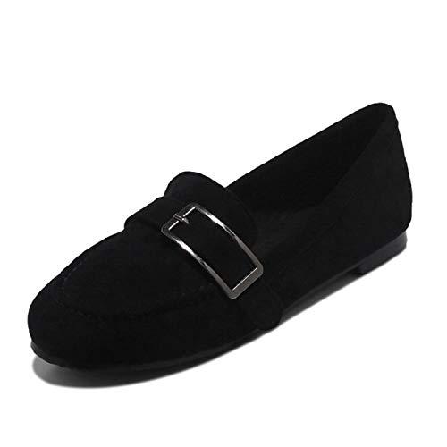 Successg Schwarze Damenschuhe Frau Plus Größe 32-48 Flache Loafers Frauen Sommer Slip-On Flach Bequeme Beiläufige Frauen Schuhe