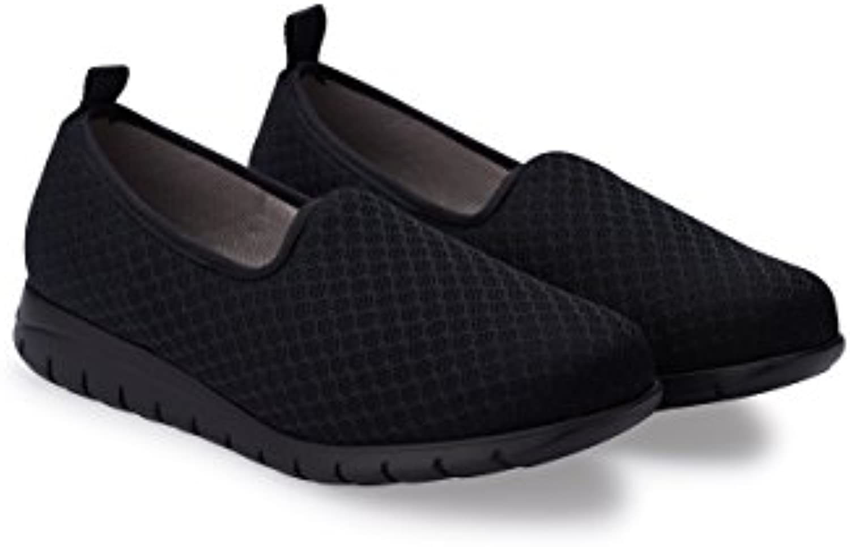 Oneflex Baskets Confortables Femme Mod. Maeva Coolmax- Coolmax- Coolmax- Chaussures antiderápant Hôtellerie en Tissu 100% Respirant...B07JX8C3C2Parent 6e9db0