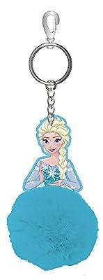 Disney Frozen 75547–Elsa Llavero con Pouch, 4x 8cm, Multicolor por JOY TOY AG
