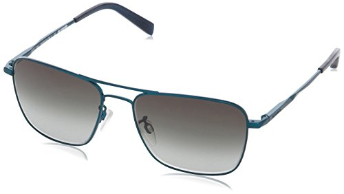 Jil Sander JS117S Rechteckig Sonnenbrille, 304 Aquamarine