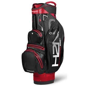 Sun Mountain SUM18HLC Sac de Golf Mixte Adulte, Rouge/Noir/Blanc