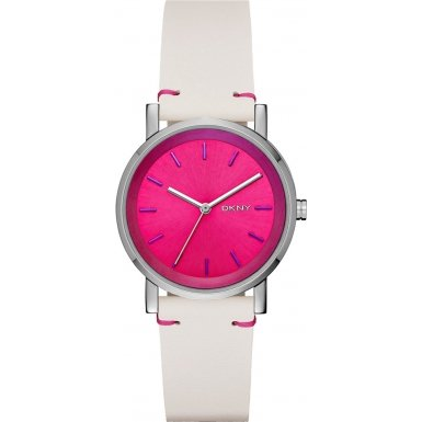 DKNY NY2317 Ladies Soho Pink White Watch