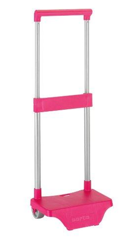 Safta - Piccolo portamochilas Carro, rosa (6 41085 705)