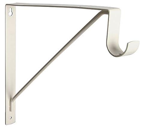 Knape & Vogt 1195 CREAM Closet Rod & Shelf Support by Knape & Vogt