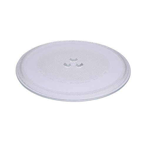 Bandeja First4Spares premium de cristal universal de repuesto con 3discos para girar para...