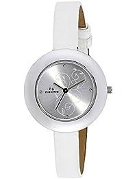 Maxima Analog Silver Dial Women's Watch - 39650LMLI