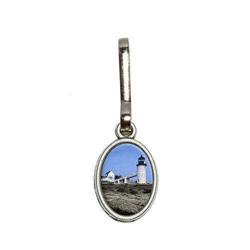 Maine Leuchtturm–Marshall Point Antik Oval Charm Kleidung Geldbörse Gepäck Rucksack Zipper Pull (Marshall Point)