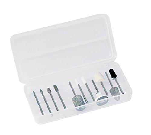 Promed PediSenso Duo elektrische Nagelfeile, elektrisches Maniküre-/Pediküre-Set, geeignet für Diabetiker, Nagelfräser inkl. 44-teiligem Zubehör