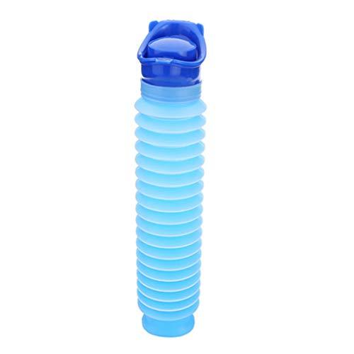 jkfui eccezionale Adulti Portable Travel Camping Urinal Bottle Emergency Toilet Urine Pee(None 1)