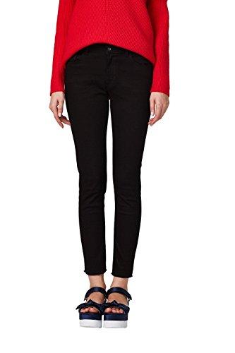 edc by ESPRIT Damen Skinny Jeans 028CC1B011, Schwarz (Black Rinse 910), 28/32