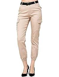 Elara Pantalones Elásticos de Mujer Push Up Jeans Chunkyrayan