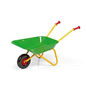 31gMTFvkowL. SS300  - Rolly Toys 271801 Carretilla Metal Verde