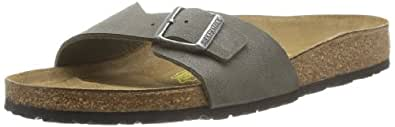 Birkenstock Madrid Birko Flor, Men's Sandals, Brushed Emerald, 7 UK